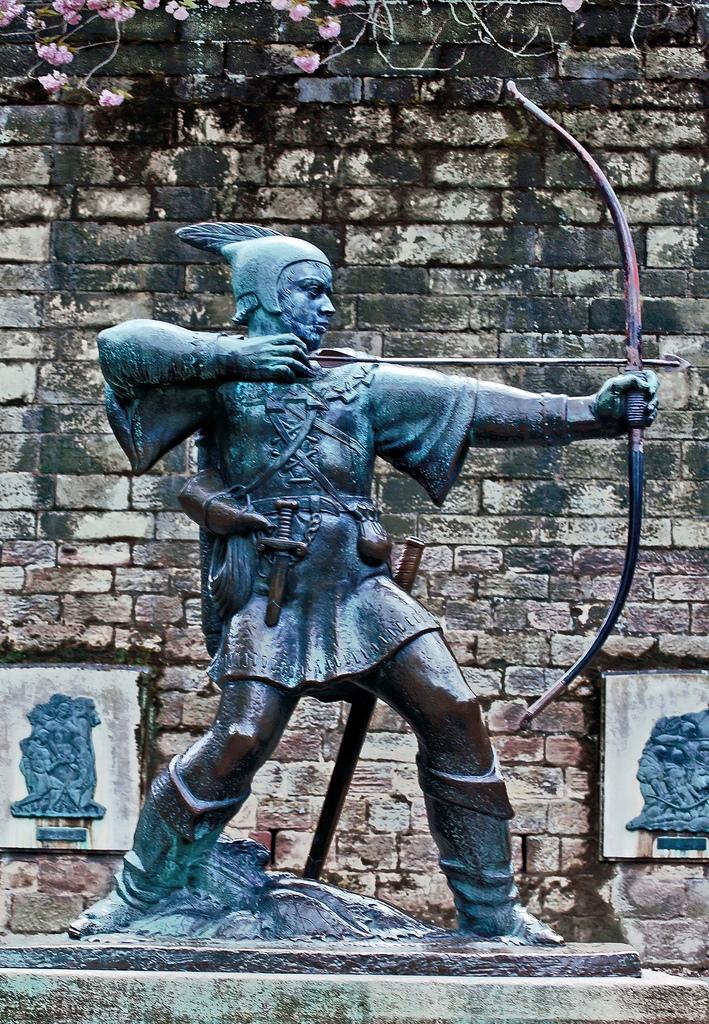 Statue de Robin des Bois